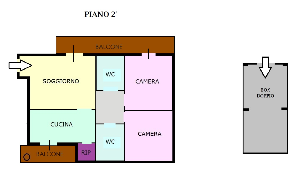Viale Due Giugno- Parco Emmanuele 2° piano